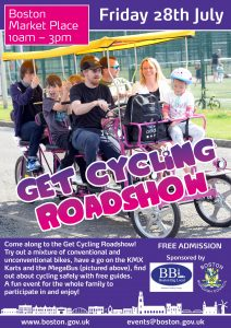 Get Cycling Roadshow - July 28