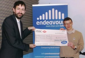 Endeavour Radio Community Chest PresentationSmall