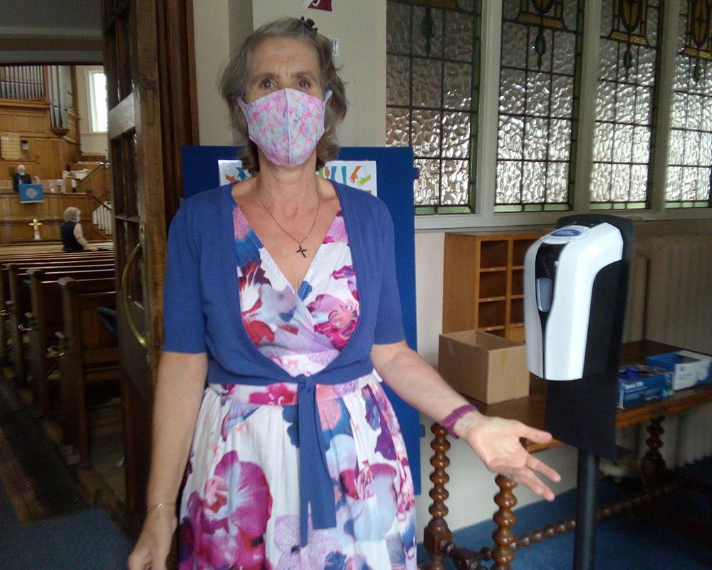 Centenary Church - Hand Sanitiser